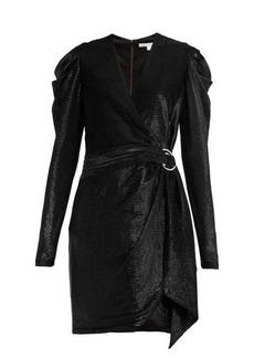Jonathan Simkhai Draped wrap mini dress