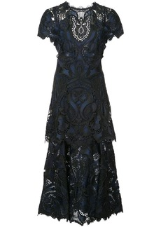 Jonathan Simkhai embroidered lace dress - Black