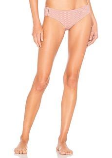 JONATHAN SIMKHAI Lace Insert Bikini Bottom