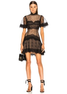 JONATHAN SIMKHAI Lace Mini Dress