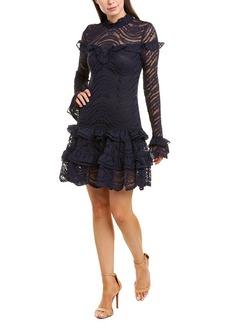 Jonathan Simkhai Lace Silk Mini Dress