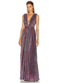 JONATHAN SIMKHAI Open Neck Maxi Dress