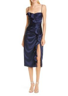 Jonathan Simkhai Ruffle Bustier Dress