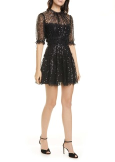 Jonathan Simkhai Sequin Lace Minidress