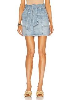 JONATHAN SIMKHAI STANDARD Kennie Mini Skirt