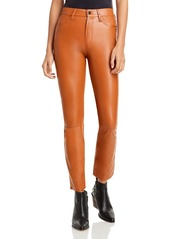 Jonathan Simkhai Standard Logan Faux Leather Cigarette Pants