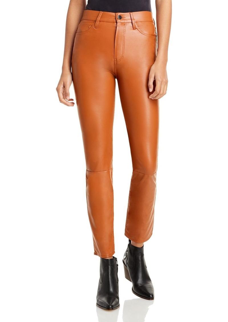 Jonathan Simkhai Standard Logan Faux Leather Cigarette Pants