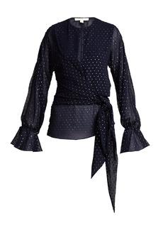 Jonathan Simkhai Tie-front blouse