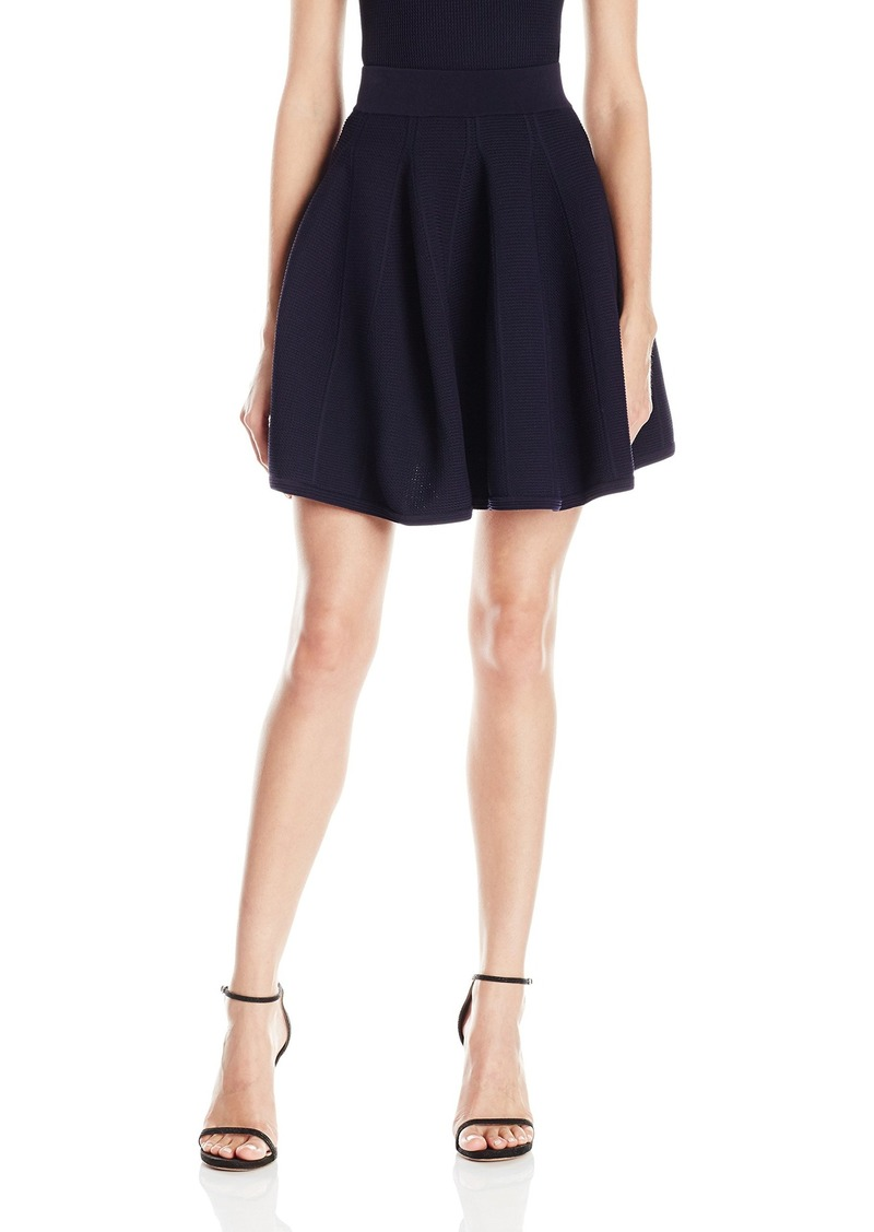 Jonathan Simkhai Women's Class Flare Skirt