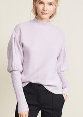 Jonathan simkhai jonathan simkhai wool tassel knit puff sleeve sweater abva29e1f0 a