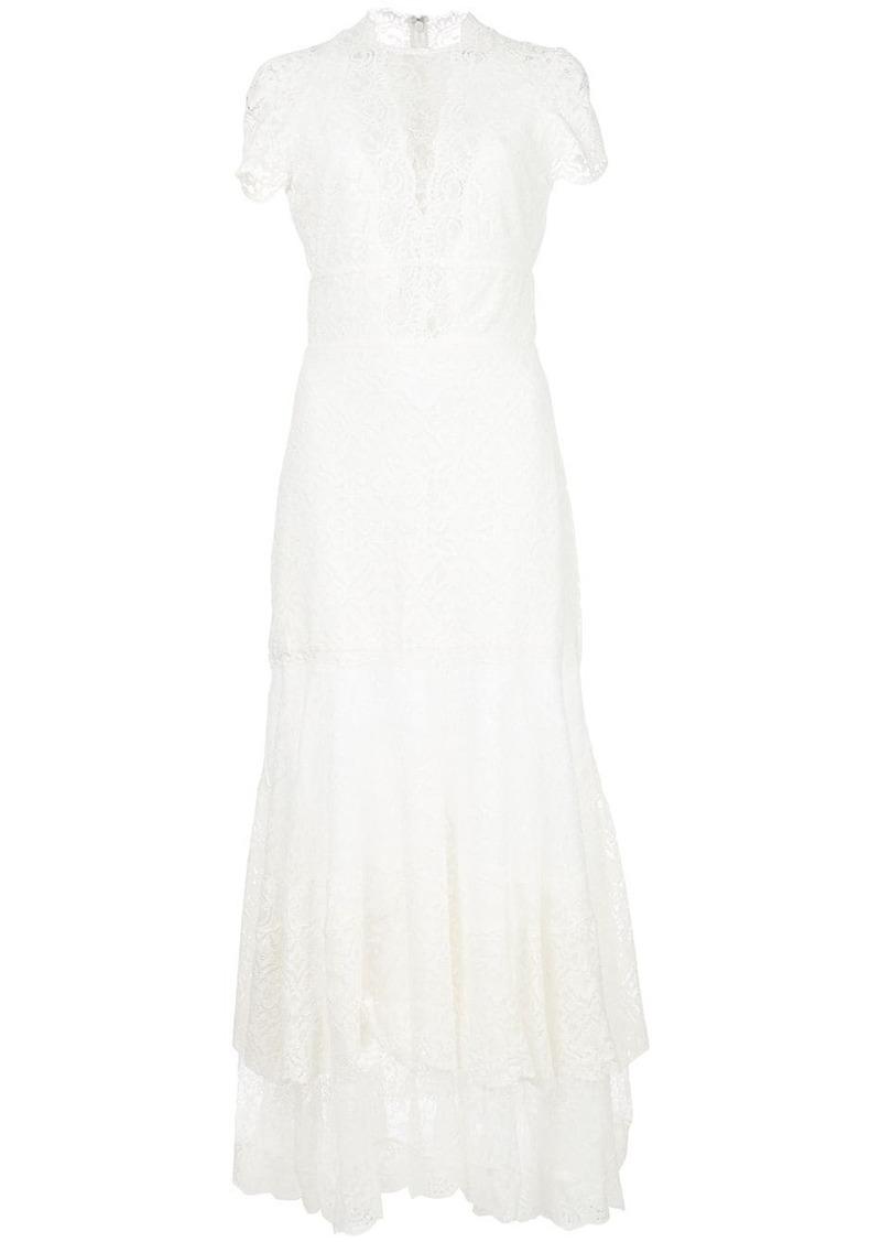 Jonathan Simkhai lace embroidered maxi dress