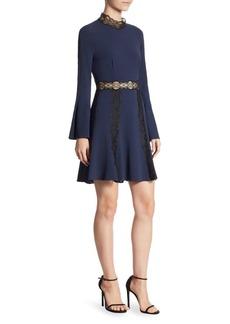 Jonathan Simkhai Lace Mockneck Dress