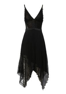 Jonathan Simkhai Lace Pleated Dress