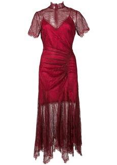 Jonathan Simkhai lace slit dress