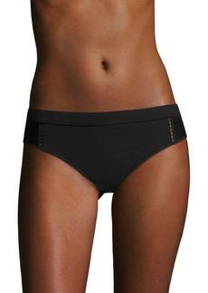Jonathan Simkhai Lace-Trimmed Bikini Bottom