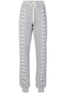Jonathan Simkhai lace-up detail track pants