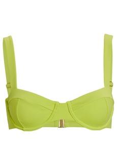 Jonathan Simkhai Lia Bustier Bikini Top