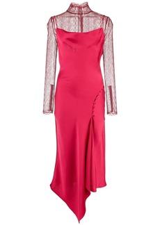 Jonathan Simkhai lingerie lace overlay dress