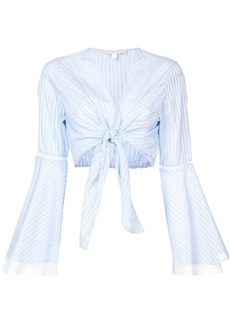 Jonathan Simkhai striped cropped top