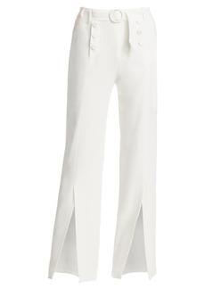 Jonathan Simkhai Pleated Waist Sailor Crepe Pants