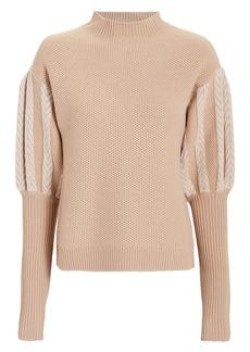 Jonathan Simkhai Puff Sleeve Sweater
