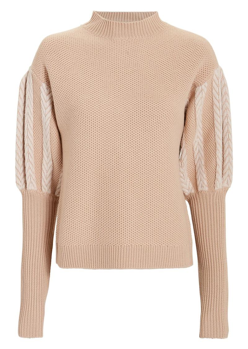 626b104d Jonathan Simkhai Puff Sleeve Sweater Now $239.00