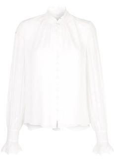 Jonathan Simkhai ruffled neck blouse