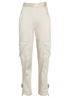 Jonathan Simkhai Sateen Utility Pants