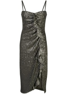 Jonathan Simkhai sequined ruffled-detail dress