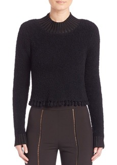 Jonathan Simkhai Wool-Blend Crop Top