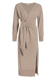 Jonathan Simkhai Skyla Loungewear Knit Wrap Dress