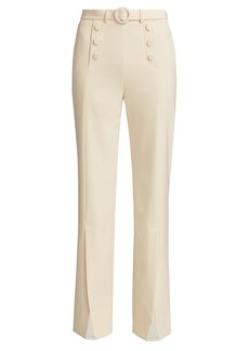 Jonathan Simkhai Slit-Front Sailor Pants