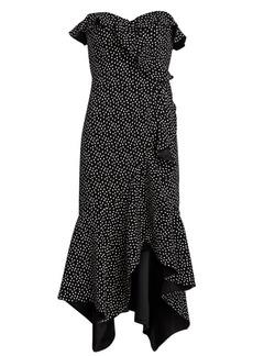 Jonathan Simkhai Speckle Asymmetric Mermaid Dress
