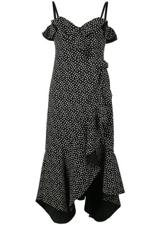 Jonathan Simkhai Speckle print ruffled dress