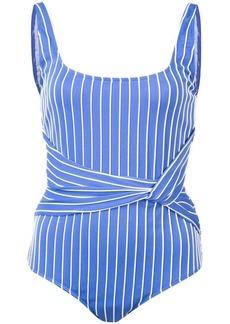Jonathan Simkhai striped tank swimsuit