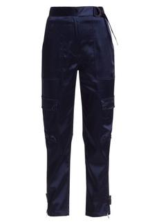 Jonathan Simkhai Structured Sateen Pants