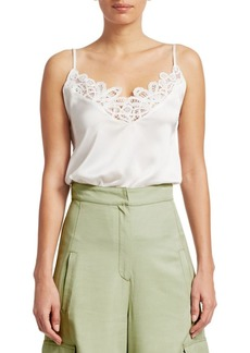 Jonathan Simkhai Threaded Lace Camisole