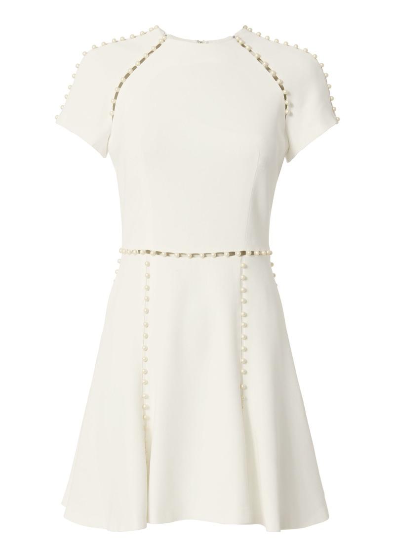 432ff9a1cd Jonathan Simkhai White Pearl Mini Dress