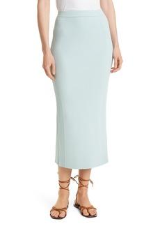 Women's Jonathan Simkhai Brooklynn Ribbed Midi Skirt