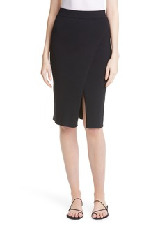 Women's Jonathan Simkhai Rib Knit Wrap Skirt
