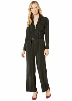 Jones New York Cinched Waist Jumpsuit