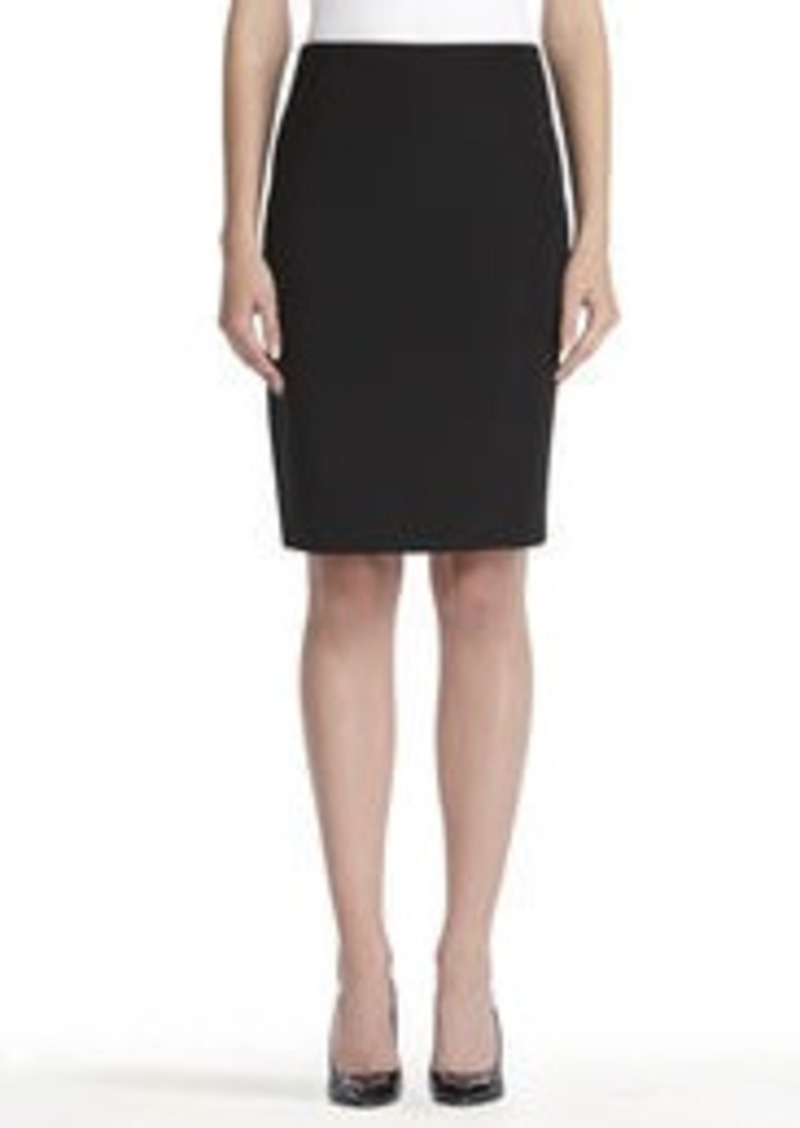 Jones New York Classic Black Pencil Skirt