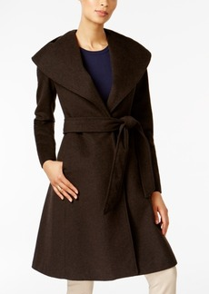 Jones New York Asymmetrical Shawl-Collar Coat