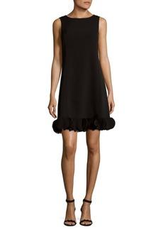 JONES NEW YORK Circular Hem Shift Dress