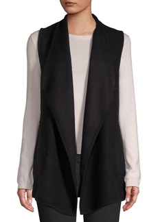 JONES NEW YORK Classic Foldover Vest