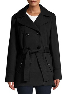 JONES NEW YORK Classic Hooded Jacket