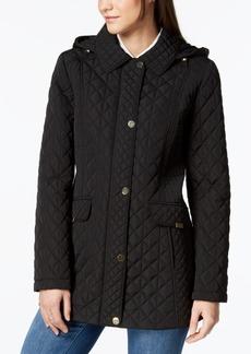 Jones New York Contrast-Quilted Jacket