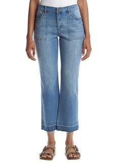 Jones New York® Cropped Bell Leg Jeans