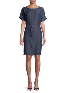 JONES NEW YORK Dolman-Sleeve Denim Dress