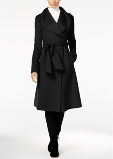Jones New York Double-Face Wool-Blend Wrap Coat